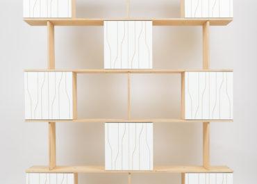 Шкаф из ламинированной фанеры Cube